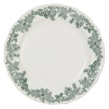 spode ruskin house 27cm wreath plate green bluewater 7 20