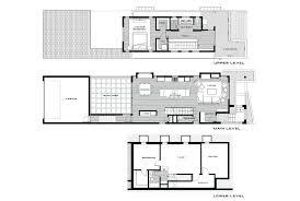 contemporary three level home showcasing creative design features