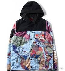 wholesale spring blue black camouflage waterproof hoodie
