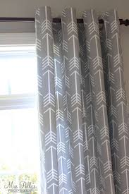 Curtains For Nursery Room Best Boys Curtains Ideas On Pinterest Room Arrow Nursery