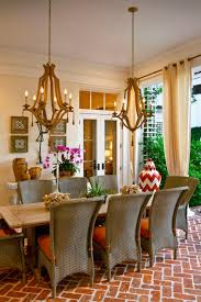 stunning mediterranean style for apartment dining room design