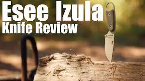 Esee Kitchen Knives Esee Izula Knife Review A Cute Capable Fixed Blade Classic Youtube