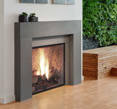 linnea 3 modern fireplace surround ash paloform