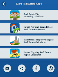 Rental Property Calculator Spreadsheet House Flipping Spreadsheet Real Estate Investors App Ranking And