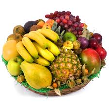 basket of fruits large fruits basket bazaar fresh