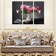 chambre haute à faire boîte peintures peinture le mur pend une photo vase fleurs