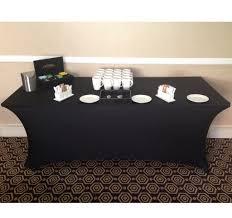 spandex table covers 6ft 183cm slim stretch lycra spandex table cover contour