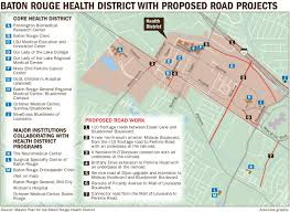 Map Of Baton Rouge Dec 10 Major Plans Revealed For New Baton Rouge Health District