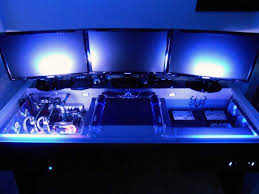 Cool Computer Setups And Gaming Setups by Computer Table Attic Office Setup Striking Best Gaming
