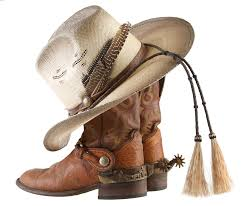 file cowboy boots and hat png wikimedia commons