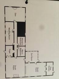 lds conference center floor plan floor plan commander s house picture of university guest house