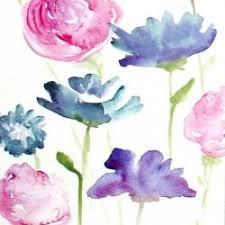 Watercolor Flowers - learn how to create gorgeous watercolor flowers in this step by