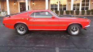 1957 mustang fastback 1969 ford mustang mach 1 fastback s40 chicago 2014