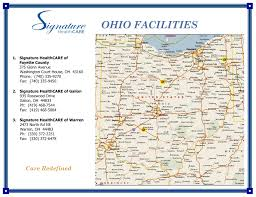Alliance Ohio Map by Three Ohio Nursing Rehab Centers Join Signature Shc Newsroom