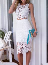 lace skirt choose white lace skirt to look trendy mybestfashions