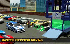 smart car parking crane driver 3d sim multi level android apps