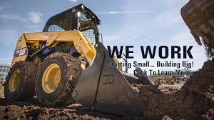 cat excavators for rent