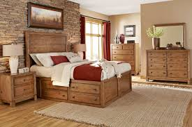 rustic bedroom ideas hanging fan stylish drawers wooden wall root
