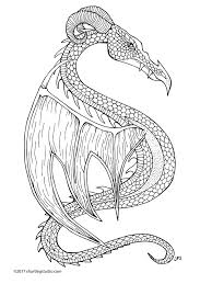 dragon coloring sheet u2014 short leg studio