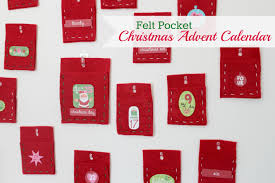 felt pocket christmas advent calendar tutorial sew delicious