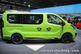 opel vivaro opel vivaro life side at iaa 2017 indian autos blog