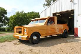79 Ford F150 Truck Bed - custom built all wood ford pickup truck