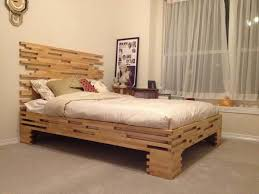wood bed frame with storage advice for your home decoration