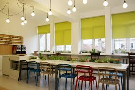 office kitchen furniture an office design that promises to beat your monday blues iquest