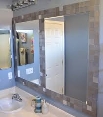 mirror tiles for bathroom walls bathroom mirror frames ideas 3 major ways we bet you didn t know