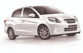 honda white car honda amaze