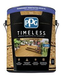 launches ppg timeless stain at national home improvement center
