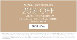 chicos coupon chicos coupons 2018 printable world of template format