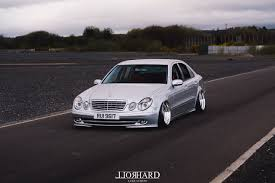 bagged mercedes e class the art of stance mercedes w211 u2013 rollhard