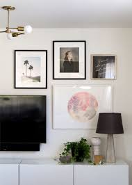 How To Hang A Picture How To Hang A Gallery Wall With Framebridge Anne Sage