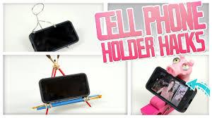 diy cell phone holder hacks do it gurl youtube