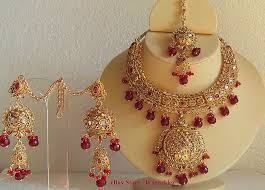 bridal gold set keysha accessories gold formed indian royal bridal gorgeous