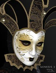 venetian mask venetian mask for genesis 2 s 3d models and 3d software