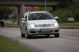 toyota corolla station wagon e120 facelift