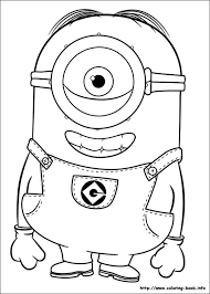 phil stuart minion coloring pages printable printable