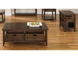 liberty furniture lakewood basket coffee table and end table set