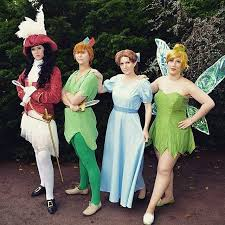 Wendy Halloween Costume Peter Pan 23 Group Disney Costume Ideas Squad Costumes Group