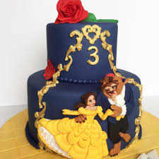 beauty and the beast birthday cakes popsugar moms