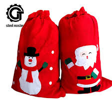 big gift bags christmas pockets big gift bags christmas gift bags santa claus