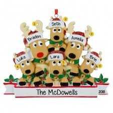family of six ornaments ornaments for you