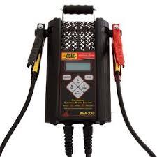 led test light autozone auto meter 120 amp handheld electrical system analyzer bva 230