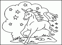 pictures unicorn coloring