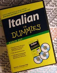 italian for dummies audio cd learn to speak italian the house