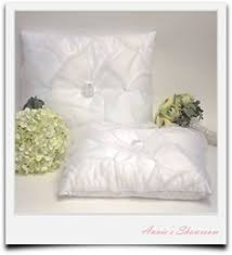wedding kneeling pillows a set of white wedding kneeling pillow floral embroidery null http