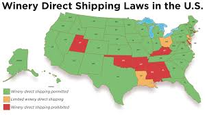 Ohio Sales Tax Map by U S Wine Shipping Laws State By State News News U0026 Features