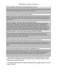 Soapstone Analysis Example Communications